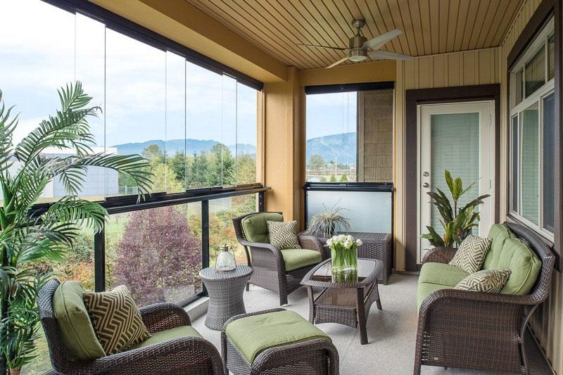 terraza cortina de cristal lumon induvent
